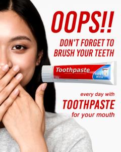 โฆษณายาสีฟัน
